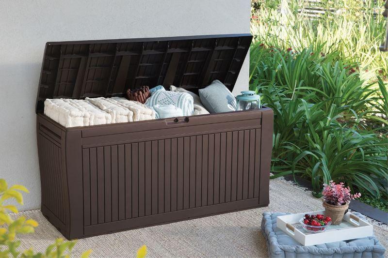 8baf23829f145 Záhradný úložný box Comfy Box 270 l Keter 17202436 SuperDiskont.SK